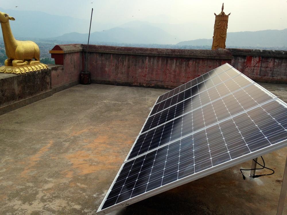 Solar Project - Matepani Gumba