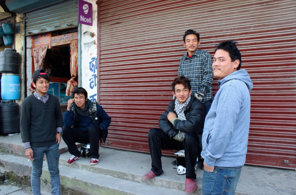 Photo taken in Pokhara before Indiegogo campaign went live (December 2014).