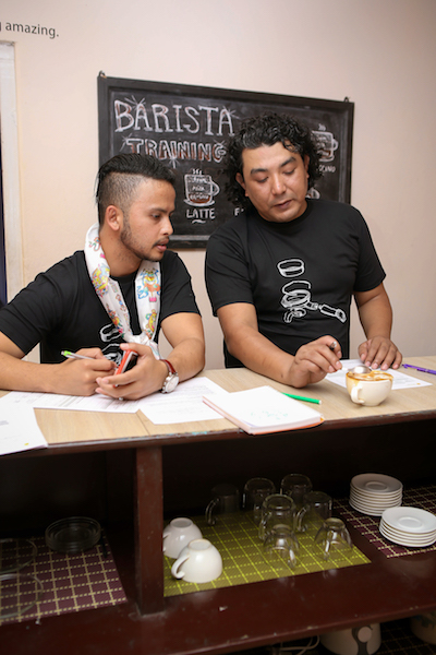 barista judges pokhara