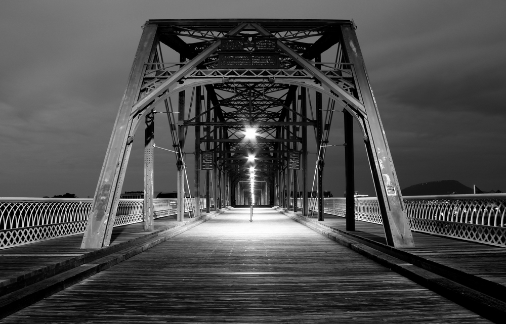 Walnut Street Bridge. Chattanooga, Tenn. 2013