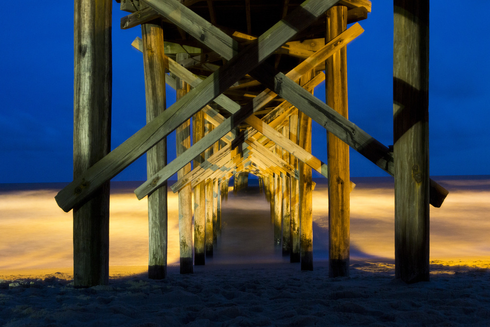 Holden Beach Fishing Pier. Holden Beach, N.C. 2014
