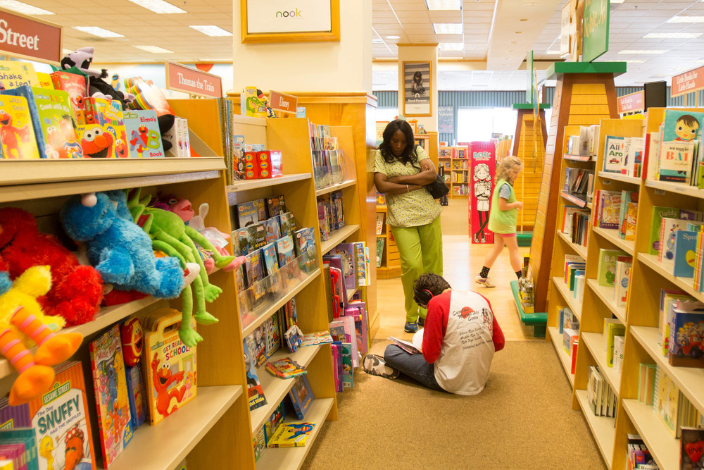 Barnes and Noble is one of Zack's favorite places to visit. With his childlike mind, he loves to sit in the children's section and flip through picture books.