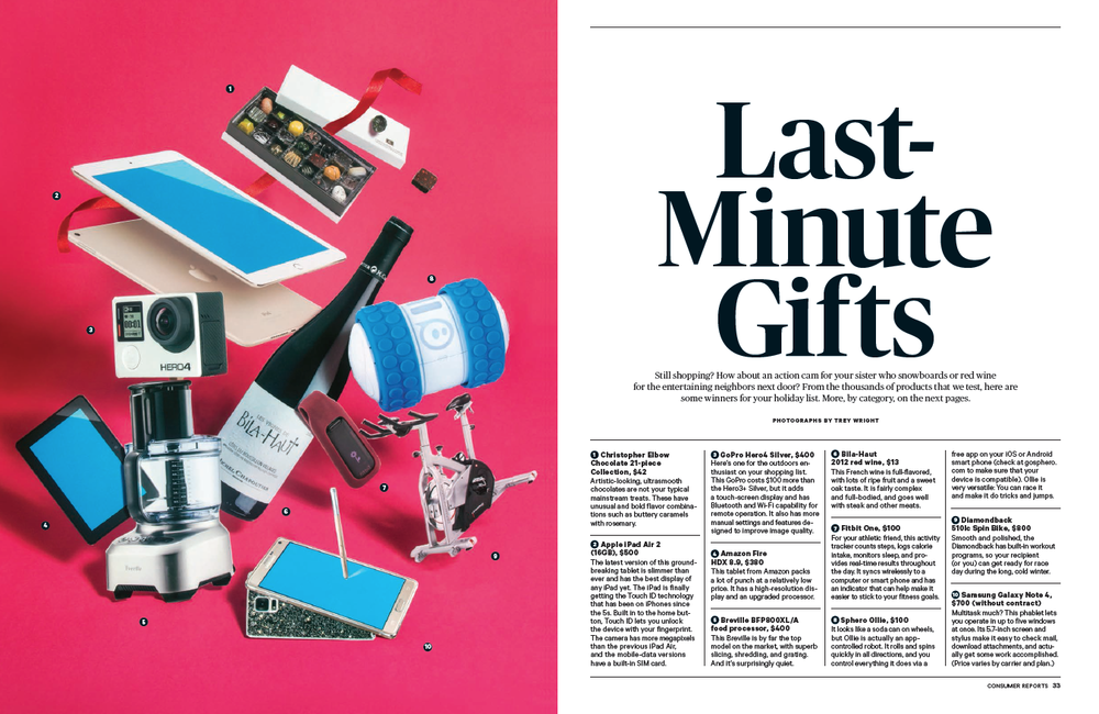 Consumer Reports - Last Minute Gifts