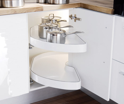 Enhancing Your Kitchen Cabinets With Organizational