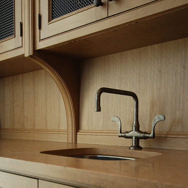 Butlers sink  #custom #cabinets #woodwork #french #design