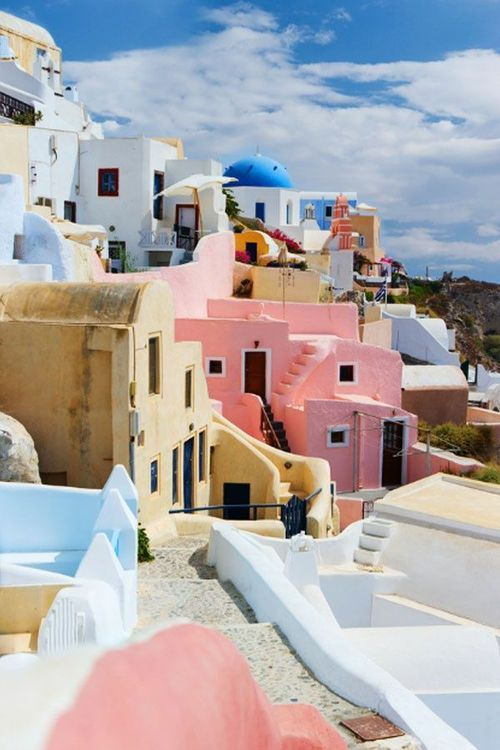 Santorini, Greece via pinterest