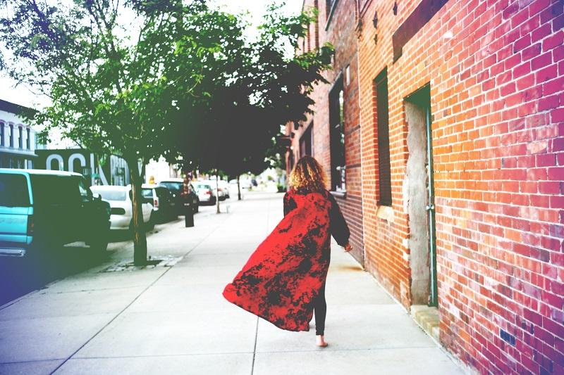 Always running. Bellatrix Kimono