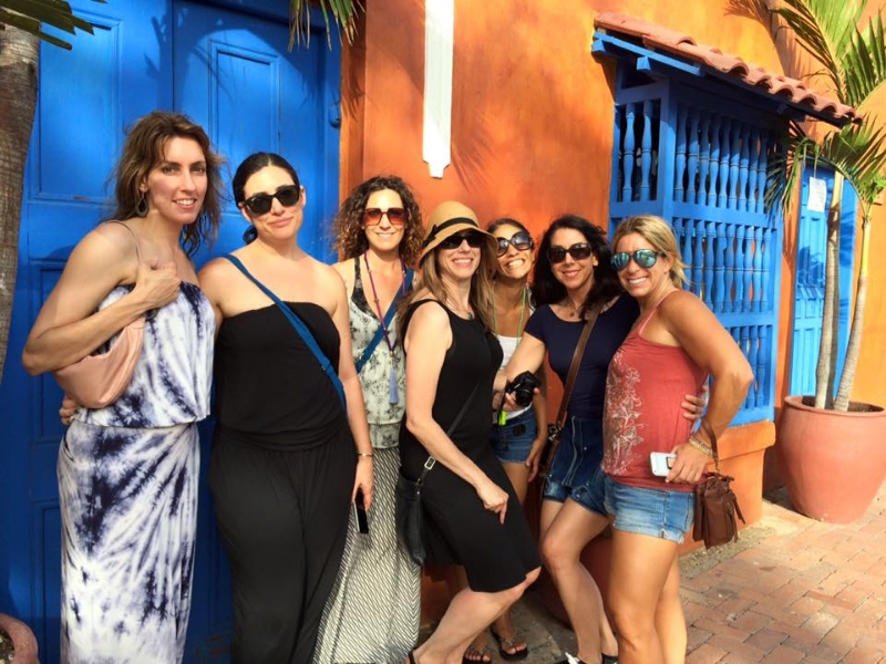 wandering the walled city of Cartagena