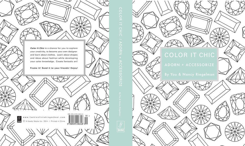 Coloring Book Design by Stefani Greenwood