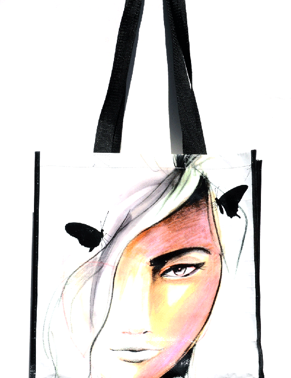 Tote bag design by Stefani Greenwood