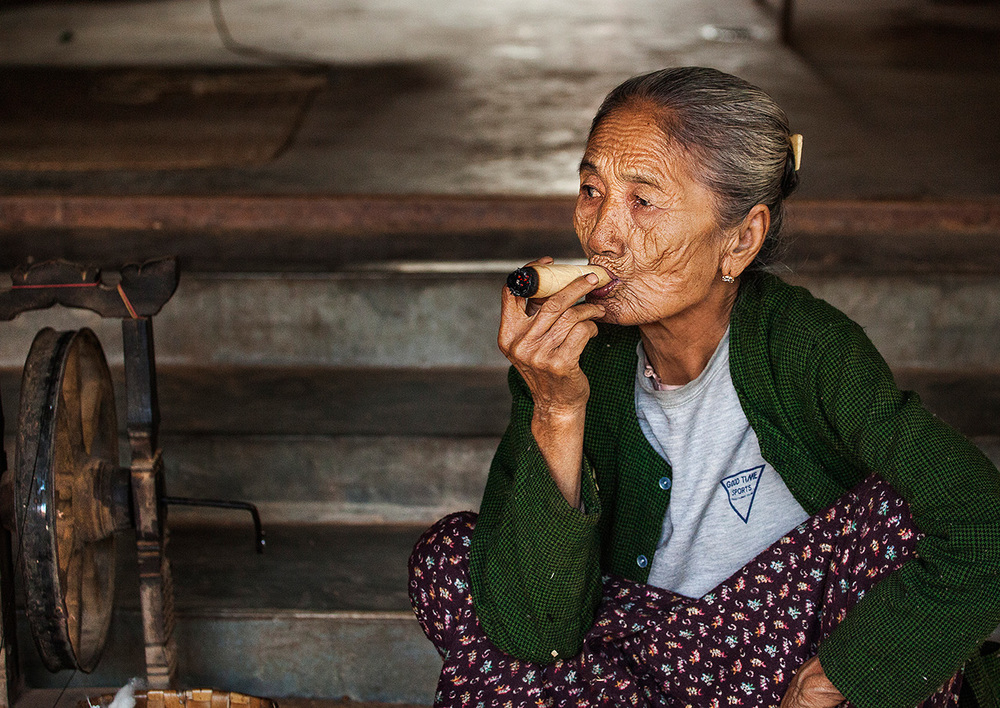 I bought one her cigars, it was pretty harsh