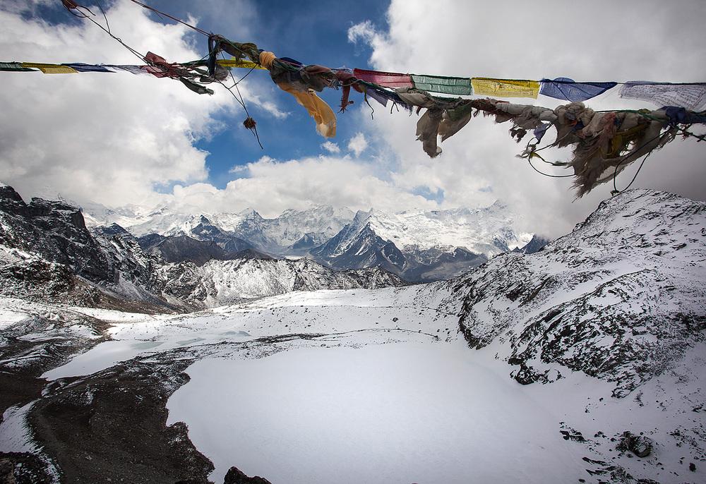 The top of the Kongma La Pass!