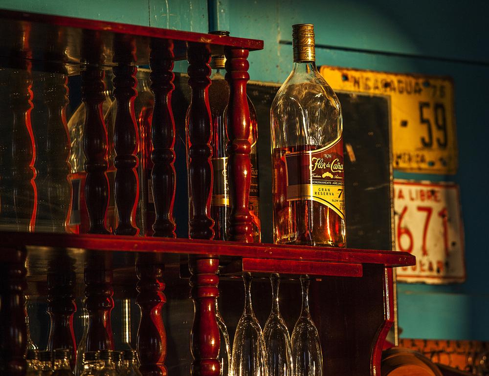 the infamous Flor de Cana rum