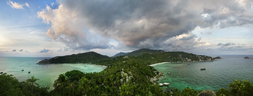 lookout point on Koh Tao