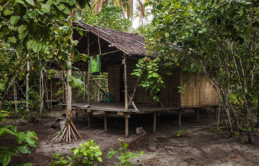 My bungalow on Kri