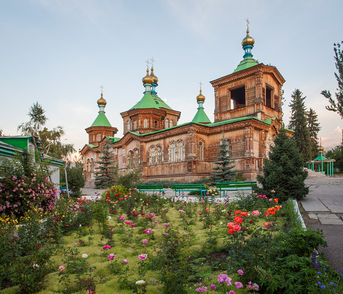 cool church in Karakol
