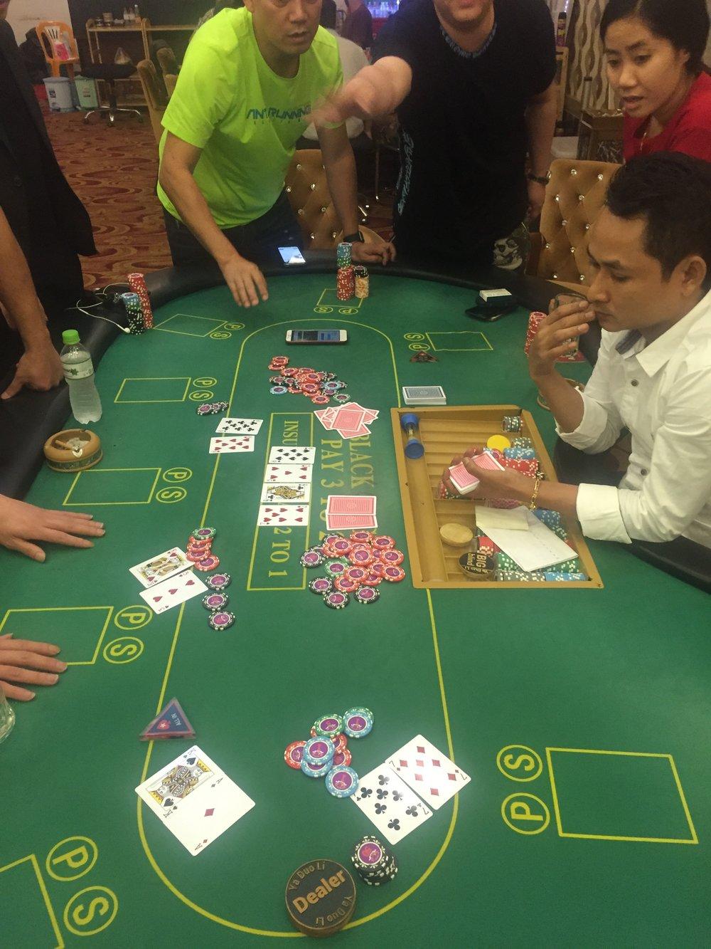 Some random poker hands