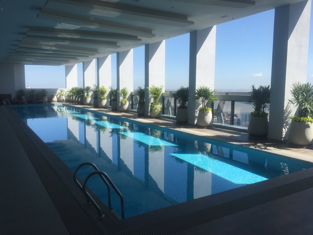 the pool on the 39th floor
