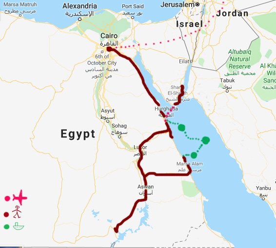 My Egypt Itinerary
