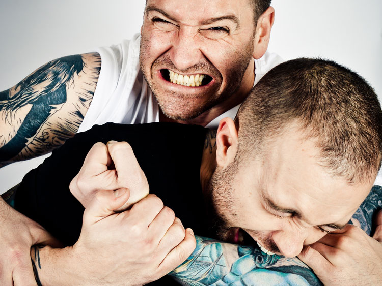 Tim and UK's number one tattoo artist Danny Birch