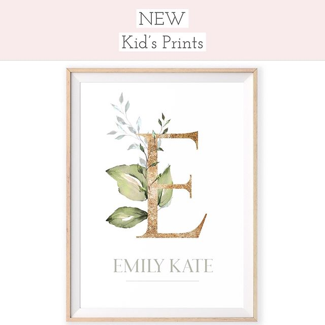 New pretties for little humans 🌸❤️x . . . . #theprettyaddicted #prettydecor #gold #nursery #nurserydecor #prettynursery #kidsprints #wallart #kidsroom #kidsprints #prettylittlething #kidsstyling #styling #stylingideas #girlsroom #giftideas #giftforkids #gifts #personalised  #personalisedgifts