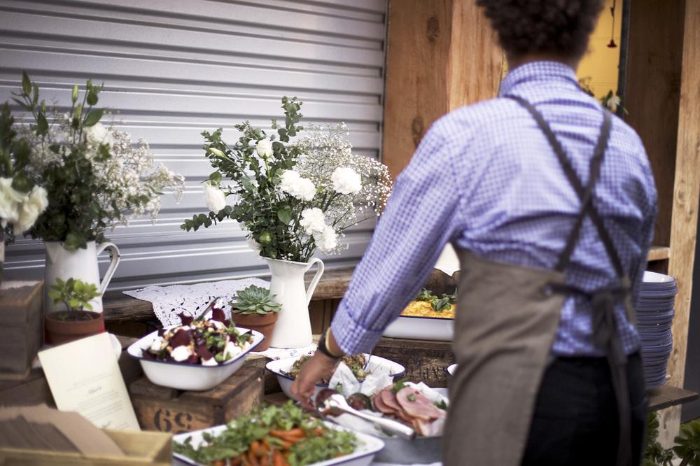 Alex and John's rustic farm wedding