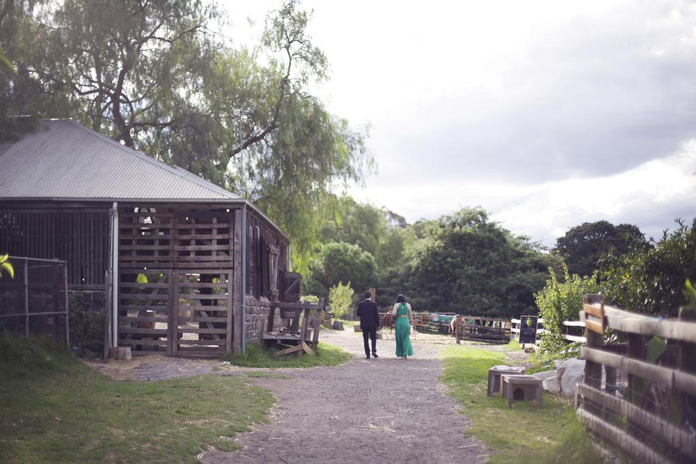Jess and David's rustic farm wedding