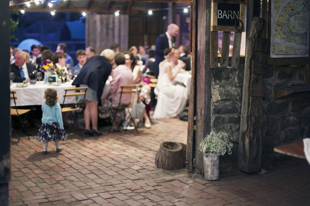 Sophie and Andy's rustic barn wedding