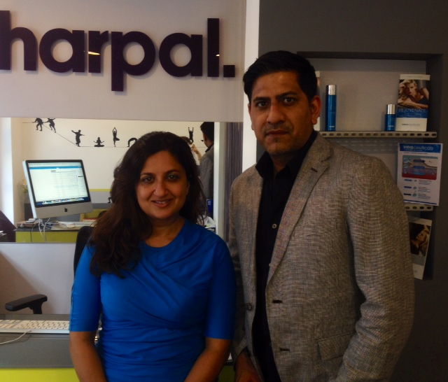 Dr Harpal Bains and  Mo Tabraze of Approved Doctors