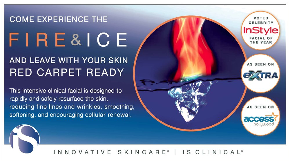 Our Brand New Fire & Ice Treatment