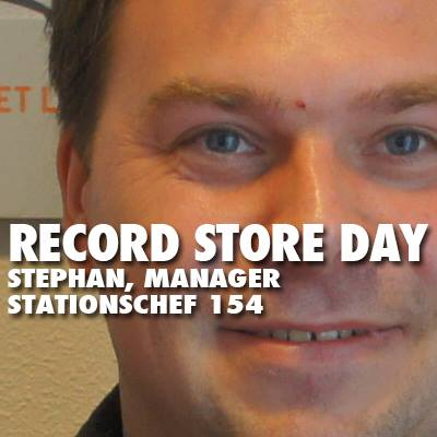RECORD STORE DAY'S STEPHAN VAN PEURSEM STATIONSCHEF PINGUIN RADIO