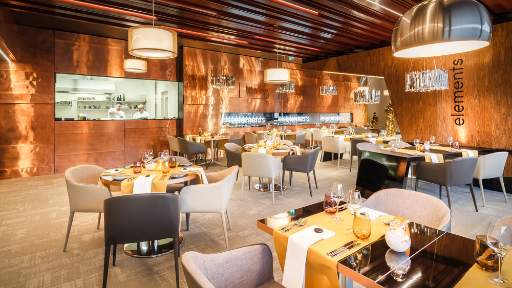 Hotel President - restaurant Eelements