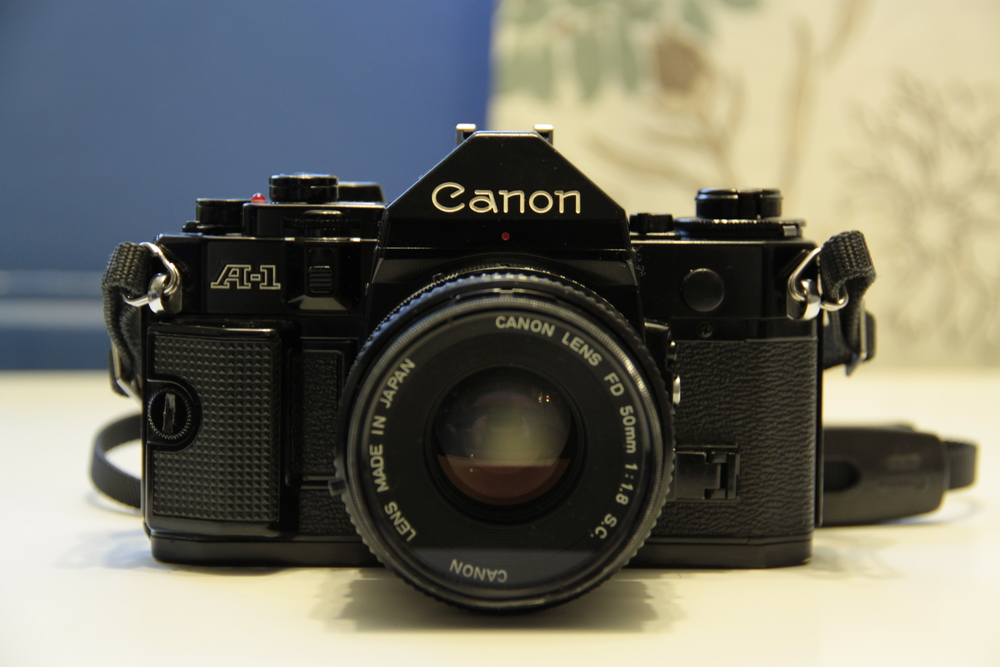 My new Canon A1 35mm SLR