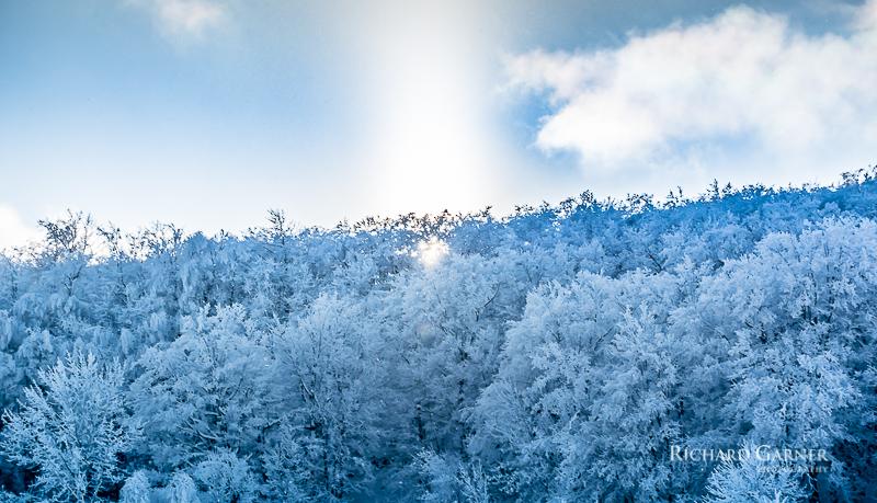 frosty sunset @ Blue