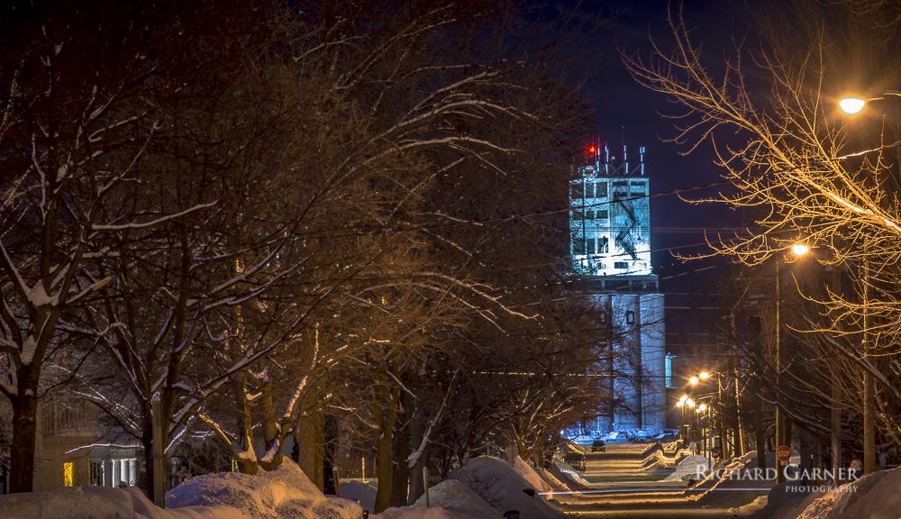 73 Maple St. In Winter