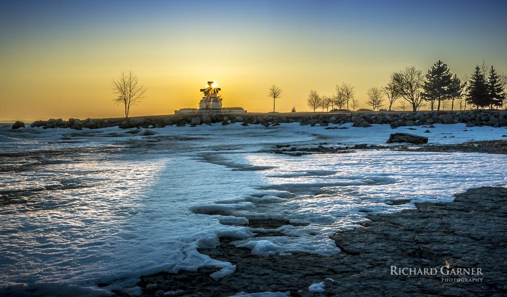107 Inukshuk Sunrise