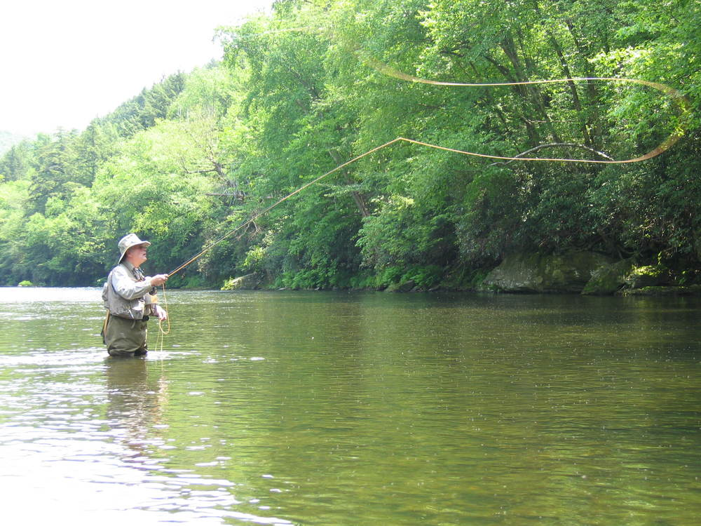 Fly fishing the Willowemoc, just outside Roscoe.