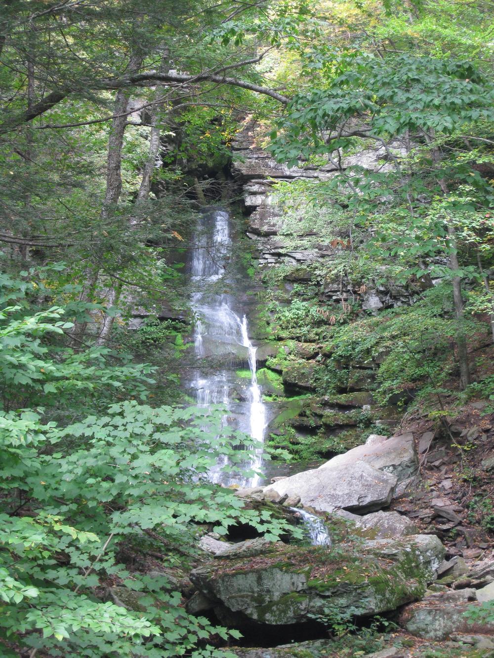 Buttermilk Falls, Peekamoose Rd.