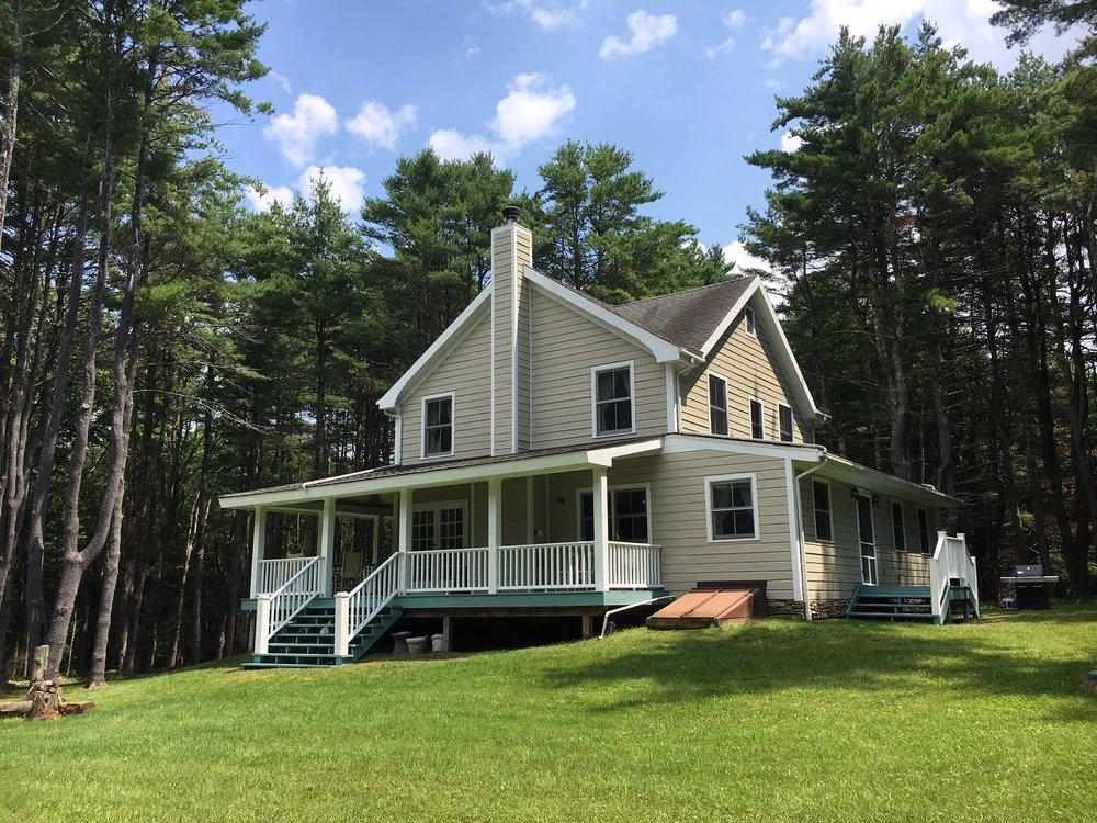 Tusten Farm Lane: Charming, Sun Filled Farmhouse On Private 4 Acres,  Narrowsburg. $399,000