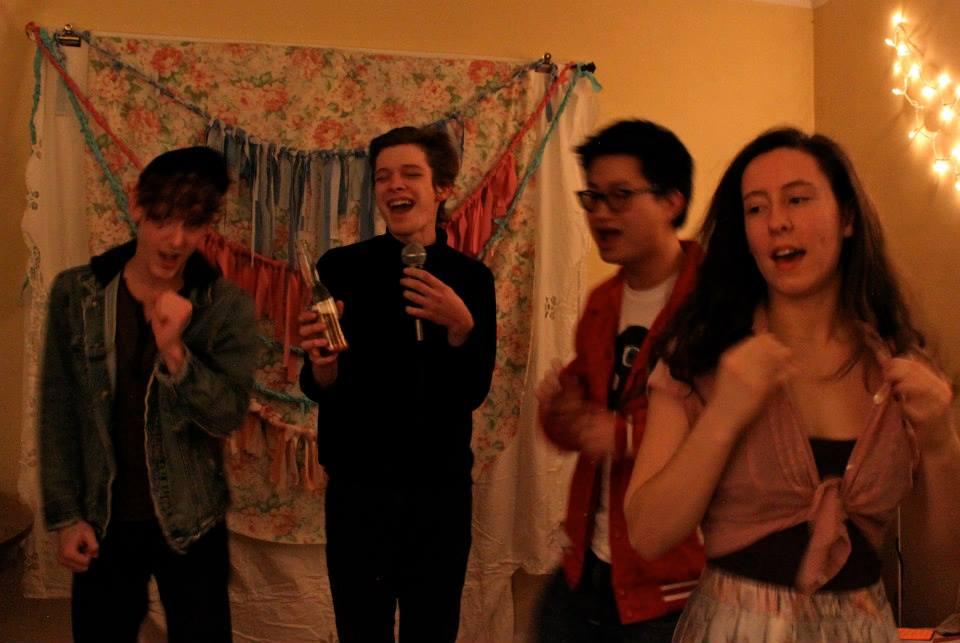 Singing. dancing.