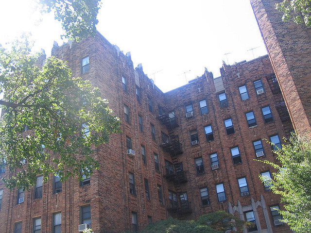 The NYC apartment building my family lived in 2005.
