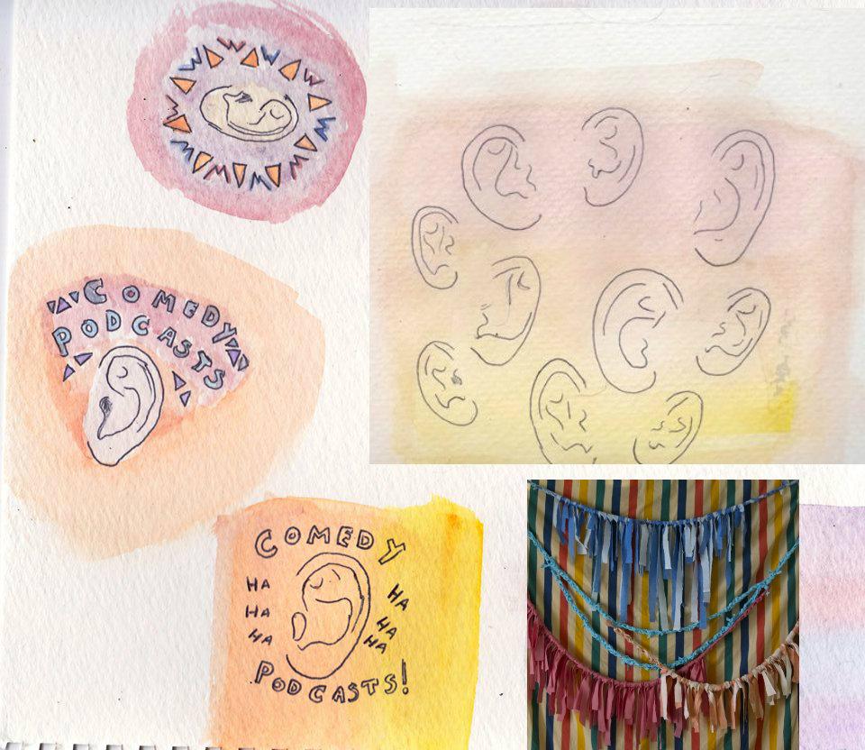 Doodles by pearl Beerhorst.