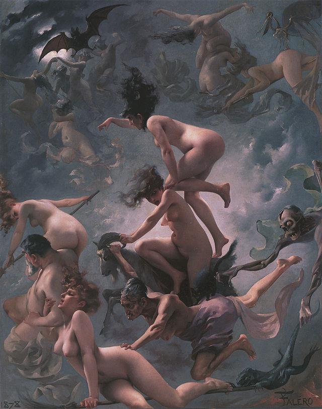 Luis Ricardo Falero Vision of Faust.