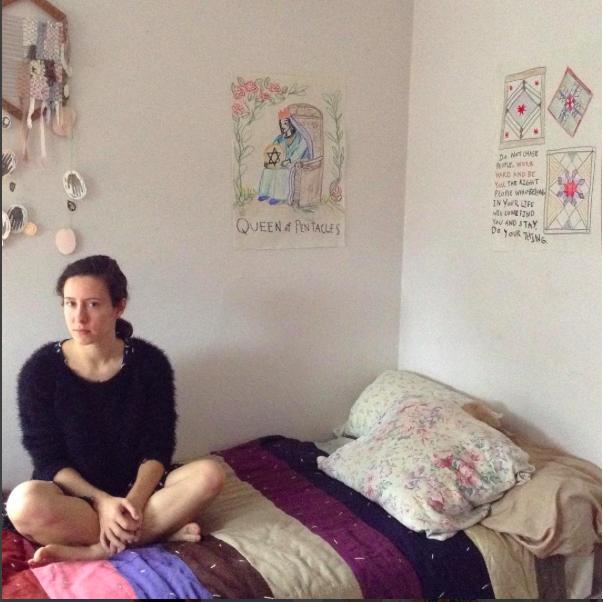Me in my room - taken by Pearl.