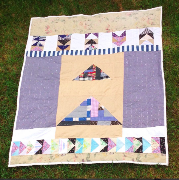 My 5th quilt.