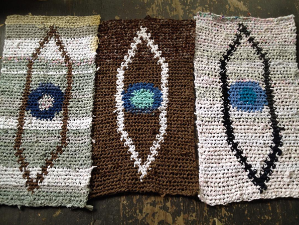 3rd eye rugs about to be shipped to LA.