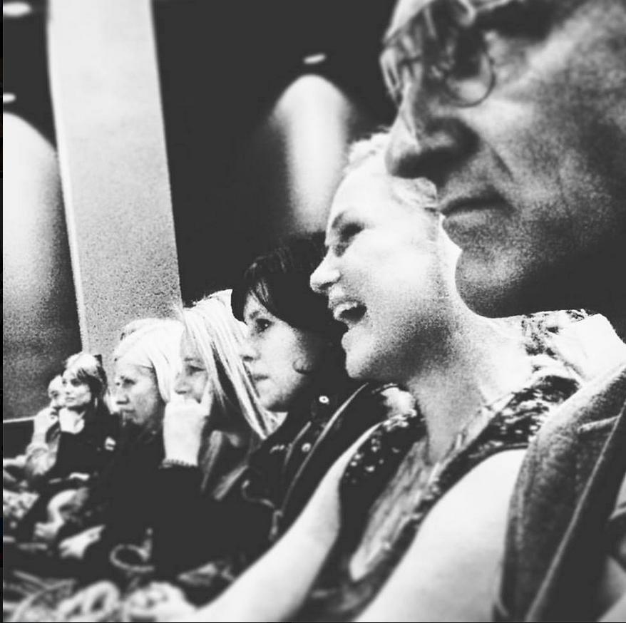 Flocking premiere Beata Gardeler, Fatime Azemi, Malin Levanon & Ville Virtanen