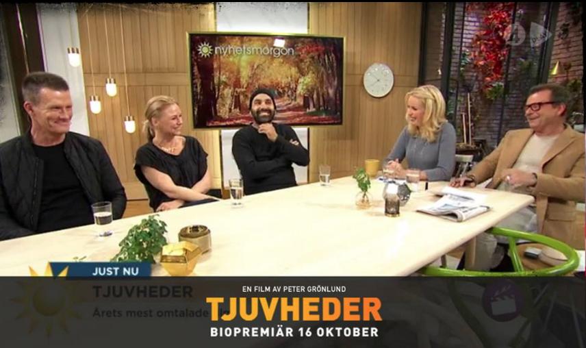 Guests in Tv4 Nyhetsmorgon