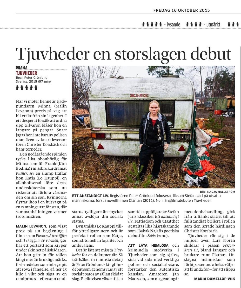 Tjuvheder Recension  Göteborgs Posten
