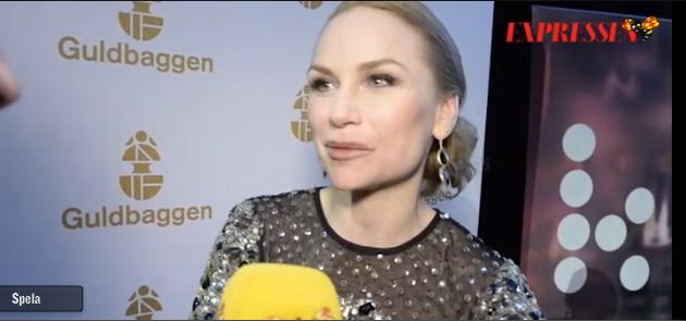 Intervju efter Guldbaggen vinsten med Malin Levanon, Expressen.